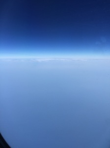Somewhere over the Persian Gulf