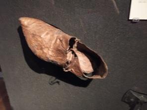 Medieval shoe c. 1275-1300