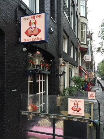 Great little restaurant for my first Dutch meal