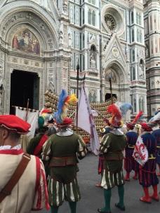 Chianti presentation at the Duomo