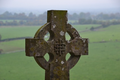 Celtic cross at Rock of Cashel
