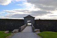 Gate at Charles Fort in Kinsale