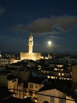 Palazzo Vecchio in the moonlight