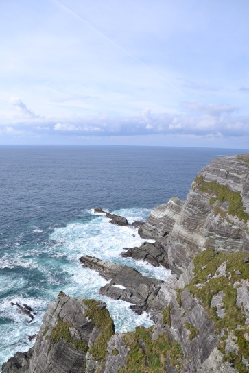 Cliffs on the Ring of Kerry drive