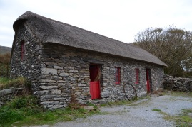 Irish famine cottages on the Dingle Pennisula