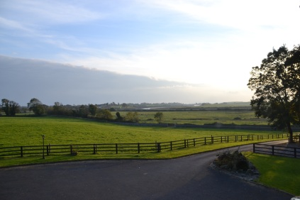 View from the Carrygerry House in Shannon