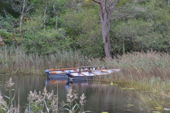 Boats at Kylemore Abbey