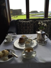 Tea & scones at Ashford Castle