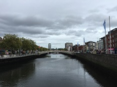 River Liffey & the Ha'penny Bridge