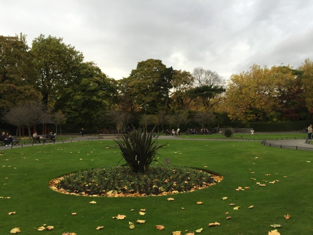 St. Stephen's Green in Dublin