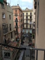 VIew from my place in Barcelona