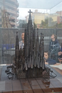 Model of the Sagrada Familia once complete