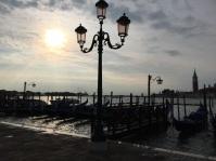 Gondolas in the morning light