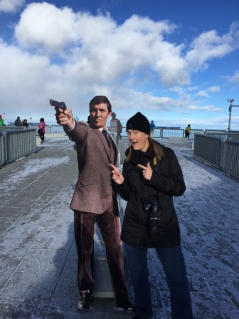 Being a dork with James Bond