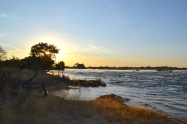Zambezi at sunset