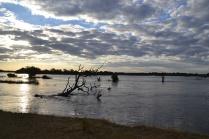 Zambezi at sunset