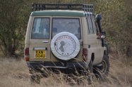 Mara Cheetah Project vehicle