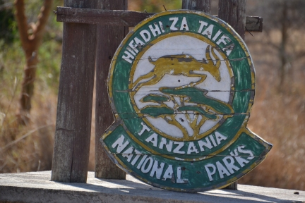 Logo for the national parks in Tanzania