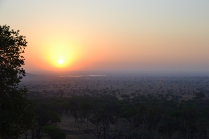 Final sunrise over the Serengeti
