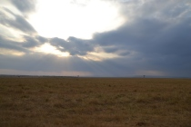 Amazing sky over the Mara