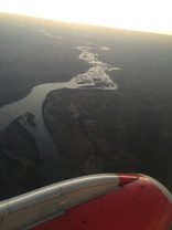 Zambezi River from above