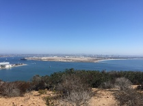 View from top of Point Loma