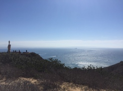 Cabrillo Monument & the Pacific Ocean