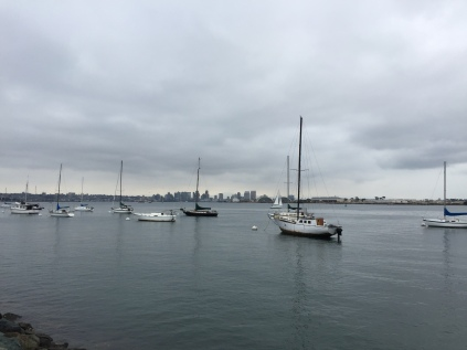 San Diego across the water