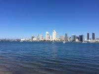 San Diego skyline from Coronado