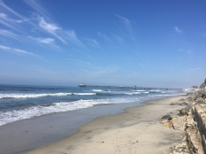 Oceanside pier in the distance