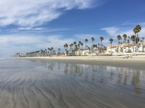 Classic California beach