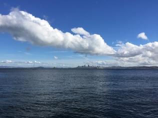 San Francisco skyline from Sausalito