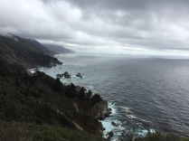 Looking south along the Pacific Coast Highway