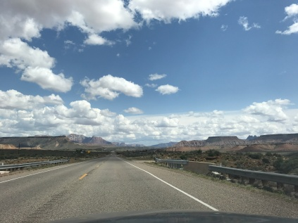 On the drive to St. George