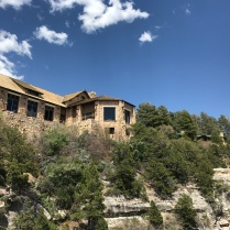West side of the main lodge