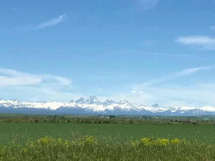 Tetons from the west side of the range